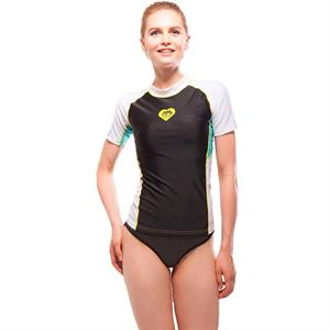 Aqua Marina Rashguards - Women Alluv - Black