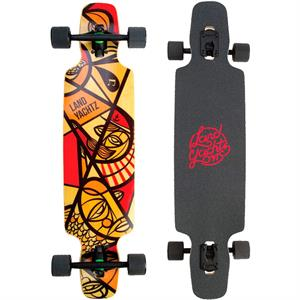"Landyachtz Drop Carve 37"" Neutical Longboard"