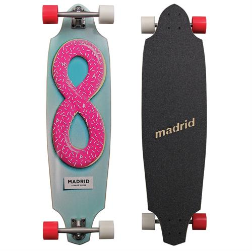 Madrid Squid Donut longboard