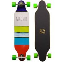 Madrid Weezer Paint Stripes Longboard