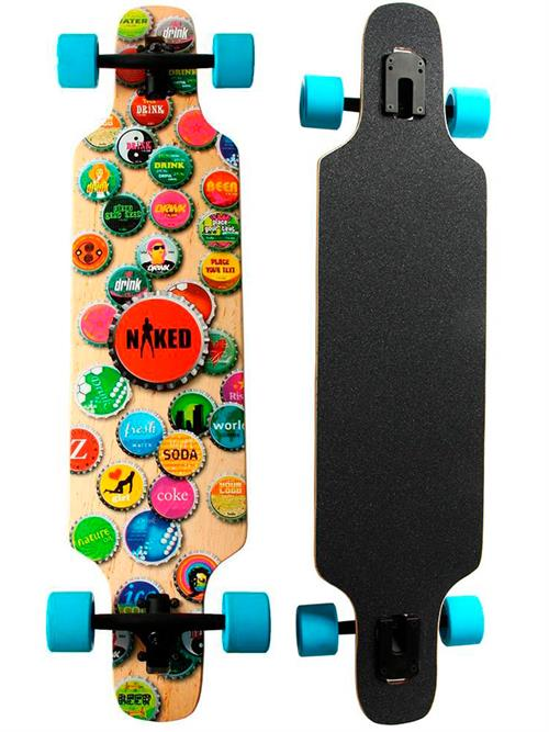 Naked Tags Longboard