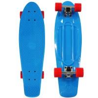 """NKD Classic Deluxe Skateboard 27"""" - Blau"""